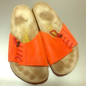 Birkenstock papillo size 40 orange